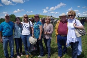 At the Little Bighorn with WWA friends
