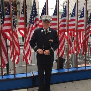 Bill Groneman, Sept. 11 First Responder, at 15th anniversary observances