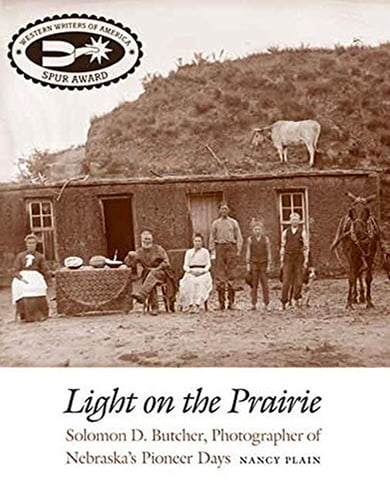 Light on the Prairie Book Cover - Large