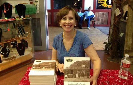 Nancy Plain at Book Signing