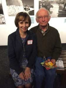 Nebraska Book Awards event, with the great poet Ted Kooser