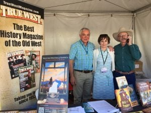 The great magazine TRUE WEST at the Tucson Book Festival, 2016