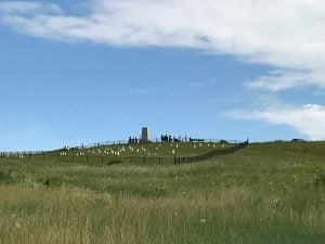View of Last Stand Hill, Battle of the Little Bighorn