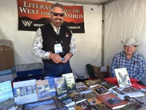 WWA booth at the Tucson Book Festival