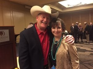 With Longmire author, Craig Johnson